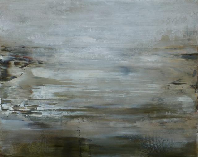 Aondrea Maynard, 'Winged Bird & Sea', 2016, Painting, Oil on panel, Seager Gray Gallery