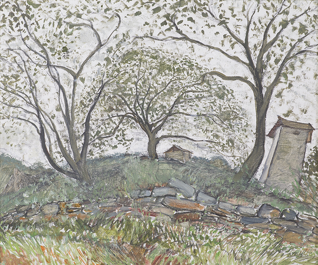 , 'Walnut Trees in Guishan,' 2009, Soka Art