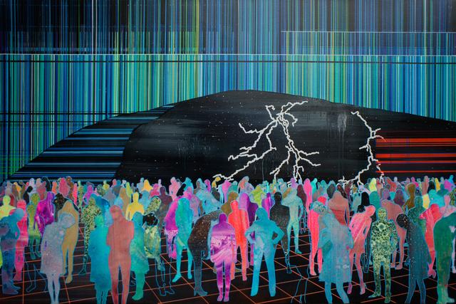 , 'More Shoegazers,' 2016, Mirus Gallery