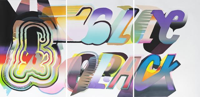 , 'Triptych,' 2012, Galerie Hugues Charbonneau