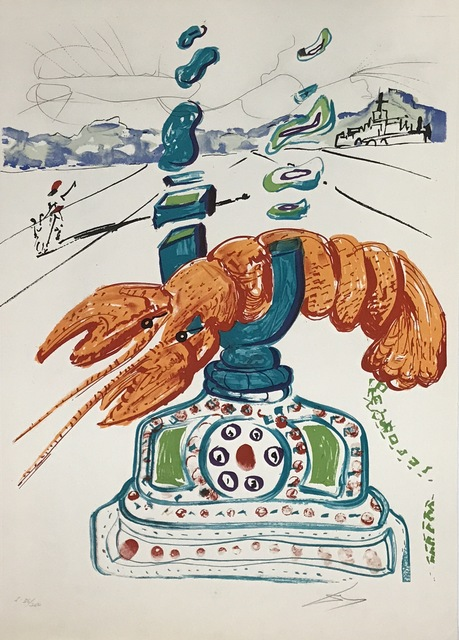, 'Cybernetic Lobster Telephone,' 1975, New River Fine Art
