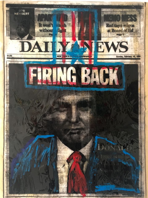, 'Firing Back,' 2016, Imitate Modern