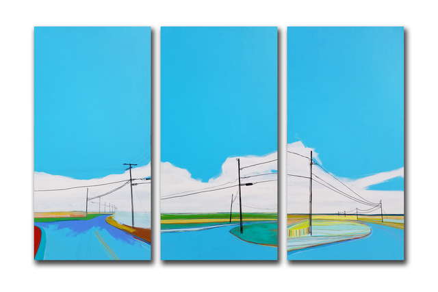 , 'Untitled (Triptych),' 2006, Roman Fine Art