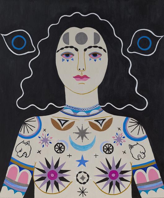 , 'High Priestess,' 2014, Denny Gallery