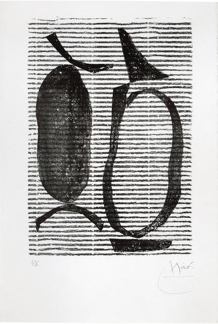 Joan Miró, 'Untitled II', 1970, Print, Block printing, Goldmark Gallery