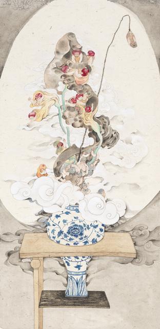 , 'The Vase on Shelves,' 2015, Yiri Arts
