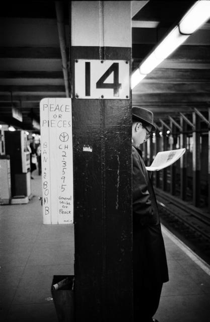 , 'New York, 1962 (Subway),' 2017, ACA Galleries