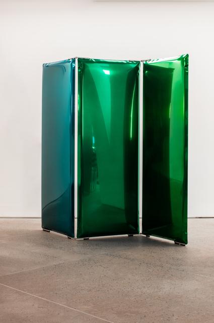 ", '""Emerald Green Sonar"" ,' 2016, Chamber"
