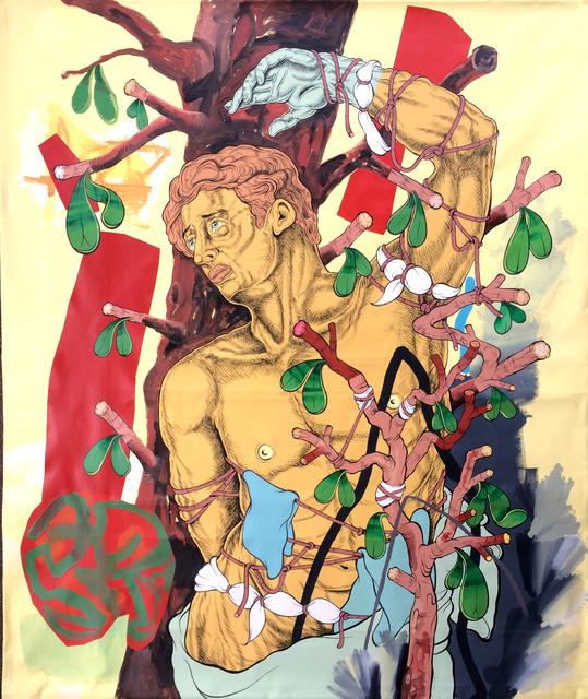 Mark Mulroney, 'Bound', 2020, Painting, Acrylic on canvas, ALLOUCHE BENIAS