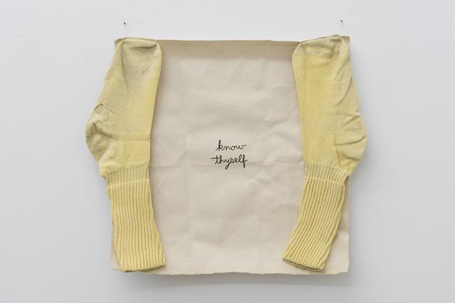 , 'Untitled (sock piece #6),' 1992, Maisterravalbuena