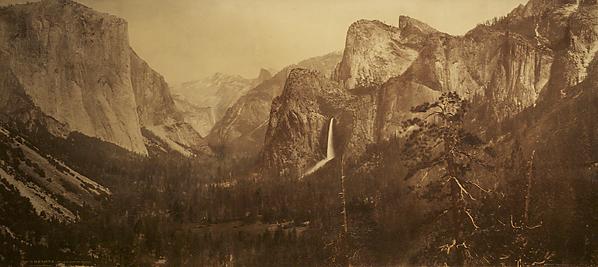 , 'Yosemite Valley from Artist Point,' 1899, Scott Nichols Gallery