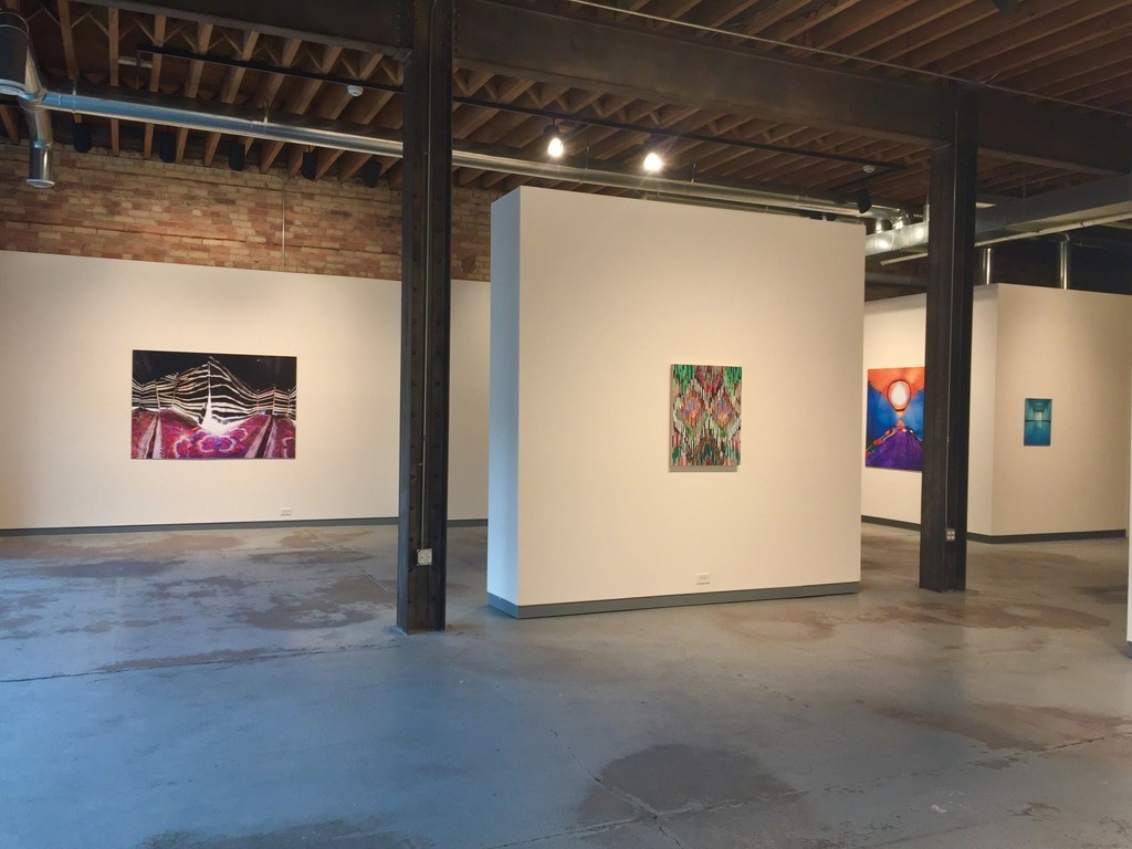 Raissa Venables and Marcus Cain as part of Color and Pattern.  (L to R: Bedouin Tent, Adamas II, Opened Tent, Blue Hall)