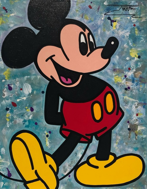 JOZZA, 'Mickey ', 2016, David Parker Gallery