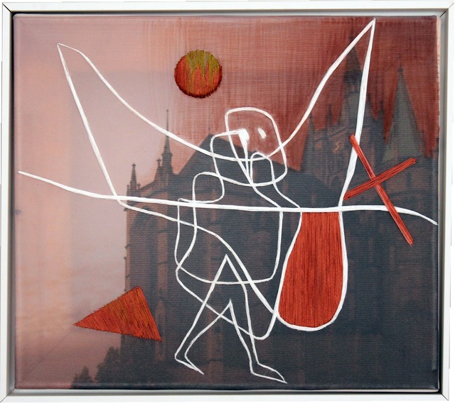, 'To Be in Angel's Care (based on Paul Klee),' 2016, Galerie Supper