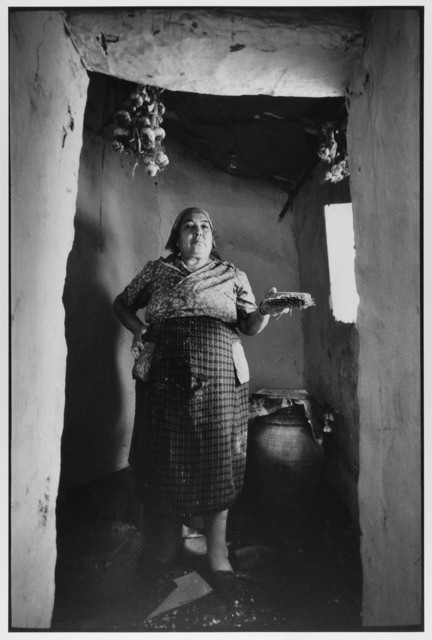 , 'Village Woman painting her home white, Madonie Mountains, Sicily, Italy ,' 1974, Gallery 270