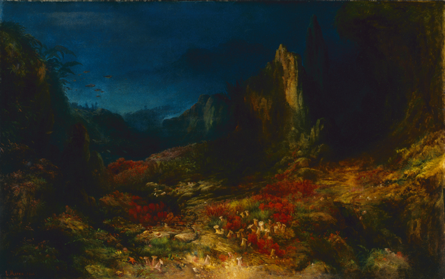 Edward Moran, 'The Valley in the Sea', 1862, Indianapolis Museum of Art at Newfields