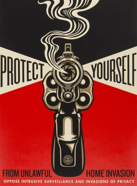 Shepard Fairey (OBEY), 'Home Invasion 2', 2014, Forum Auctions