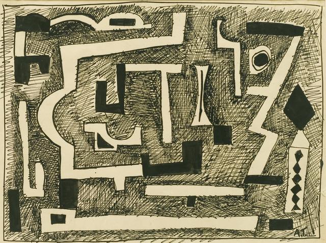, 'Forms in black,' 1937, Cecilia de Torres, Ltd.