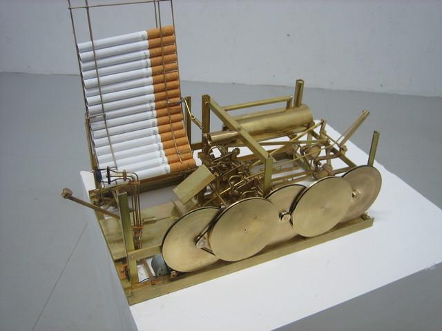, 'Smoking Machine,' 2007, Mazzoli