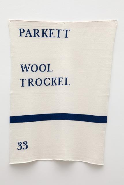 , 'Parkett Piece,' 2014, Casey Kaplan