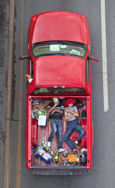 , 'Carpoolers #32,' 2012, Patricia Conde Galería