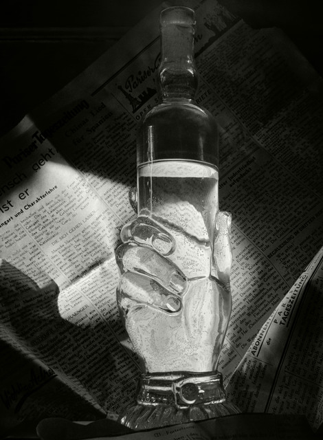 , 'Bottle and Newspaper. Paris, France,' 1936, Magnum Photos