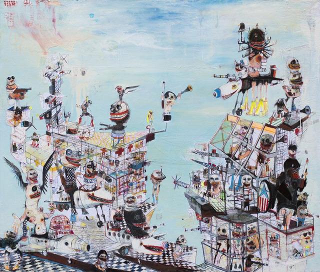, 'Fort Apocalypso,' 2019, HG Contemporary