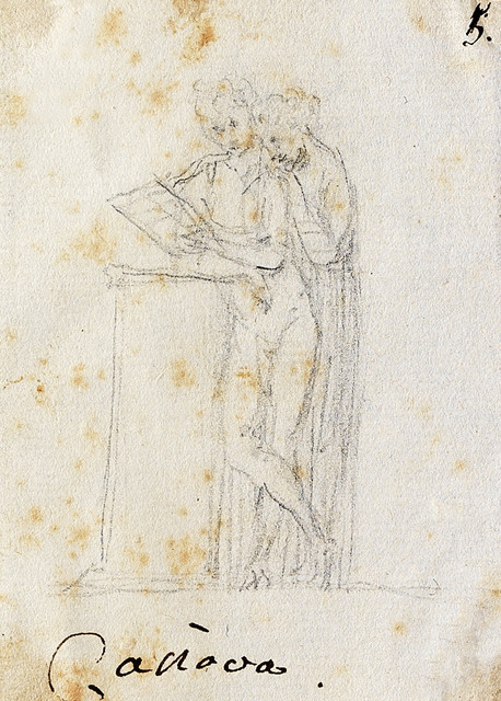 , 'Two female figures standing, embracing as they read,' , Alberto Di Castro