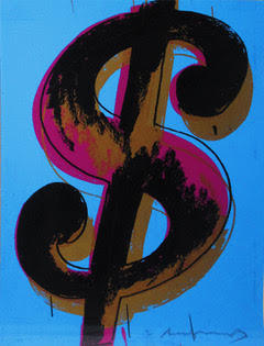 Andy Warhol, 'Dollar Sign', 1982, Print, Screenprint on Lenox Museum Board, HG Contemporary