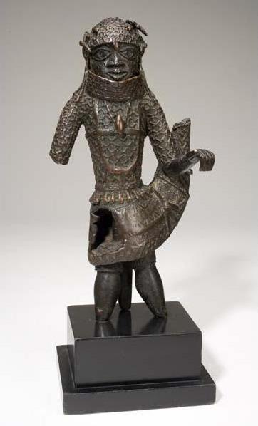 Unknown Artist, 'Figure of an Edo King (Oba)', 1620-1630, Davis Museum