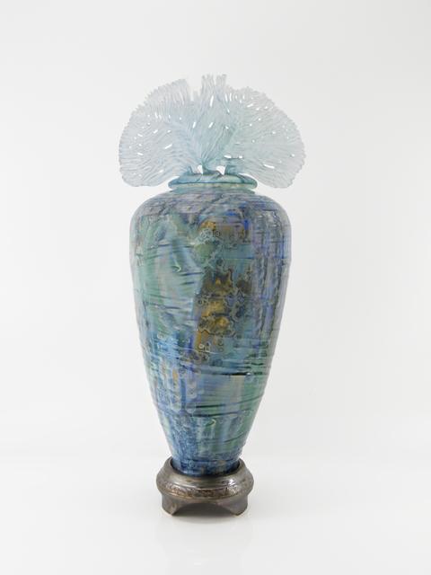 , 'Ocean Whisper Azure,' 2019, Steidel Contemporary