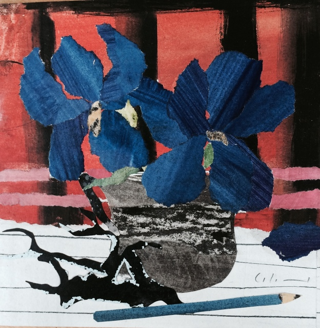 Marzia Colonna, 'Iris on Red', 2015, Sladers Yard