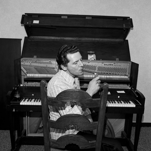 , 'Jerry Lee Lewis, Ramanda Inn, Boston, MA,' 1975, Scott Nichols Gallery
