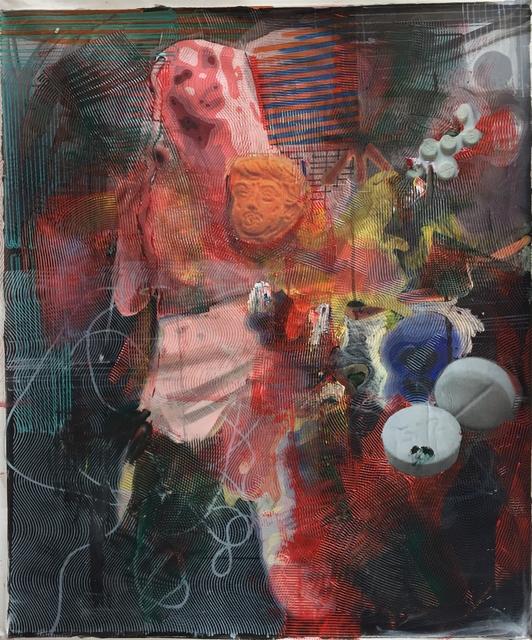 Markus Oehlen, 'BICHBRAÜ', 2017, Galería Juana de Aizpuru