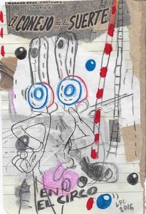 Luis Pérez Calvo, 'El conejo en el circo', 2017, Blanca Soto Arte