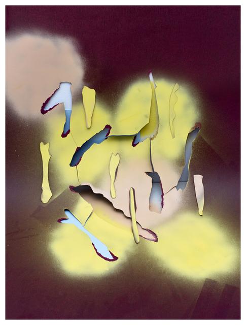 , 'S/T (Concepto espacial sinfín),' 2013, Oficina #1