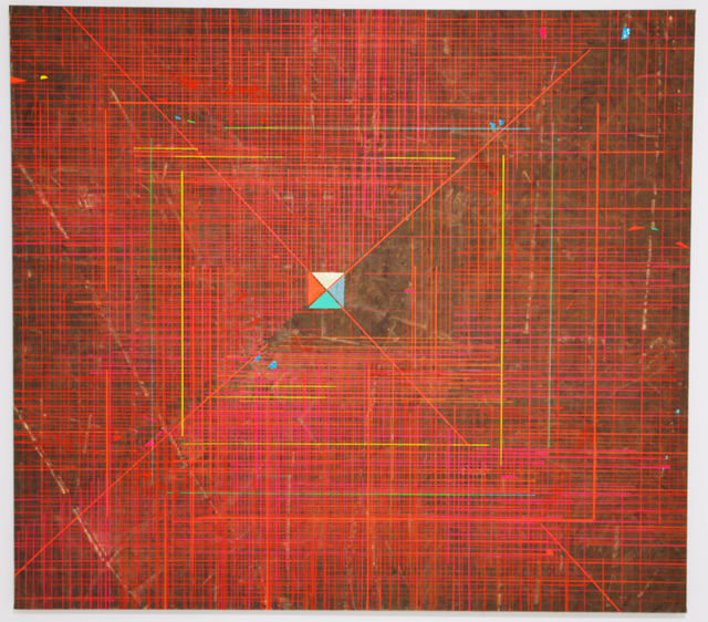 , 'Reds in Between,' 2017, Diana Lowenstein Gallery