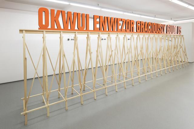 , 'Okwui Enwezor Graciously Guide Us,' 2014, MKG127
