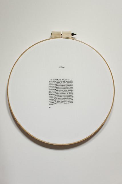 , 'Exercices de Style  / Ejercicios de Estilo. ,' 2015, Isabel Aninat