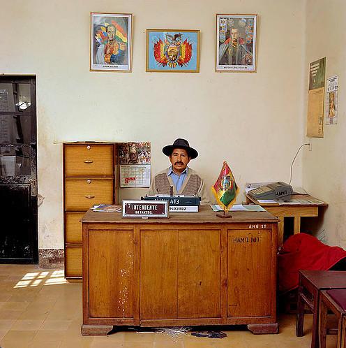 , 'Bolivia Bureau,' 2005, Galerie Fontana