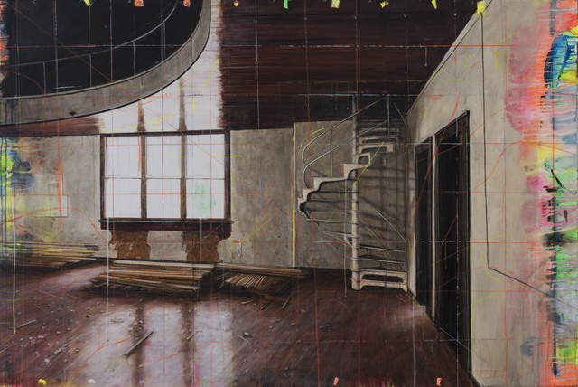 , 'Old School Gym/Cincinnati,' 2015, Winston Wächter Fine Art
