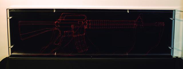 , 'Lineamientos (M16 Line) ,' 2015, BETA Galería