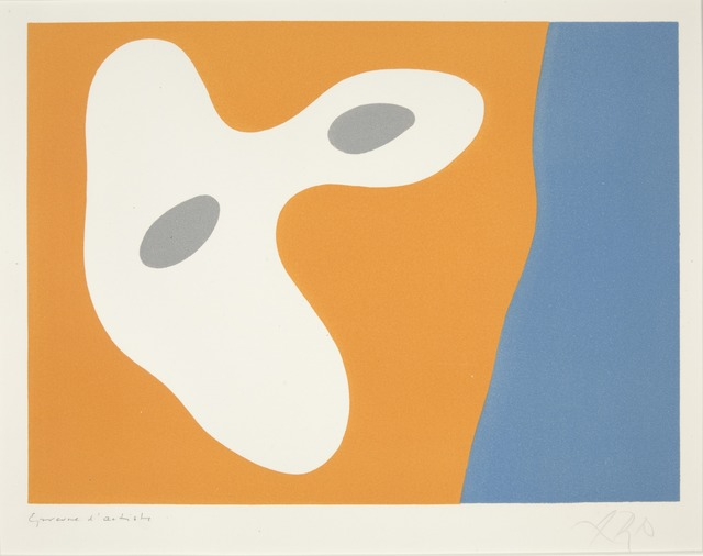 Hans Arp, 'Composition', 1955, Yale University Art Gallery