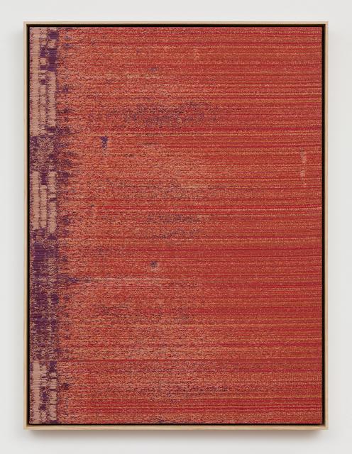 Mika Tajima, 'Negative Entropy (Toyota Motomachi Alarm, Orange, Single)', 2018, Kayne Griffin Corcoran