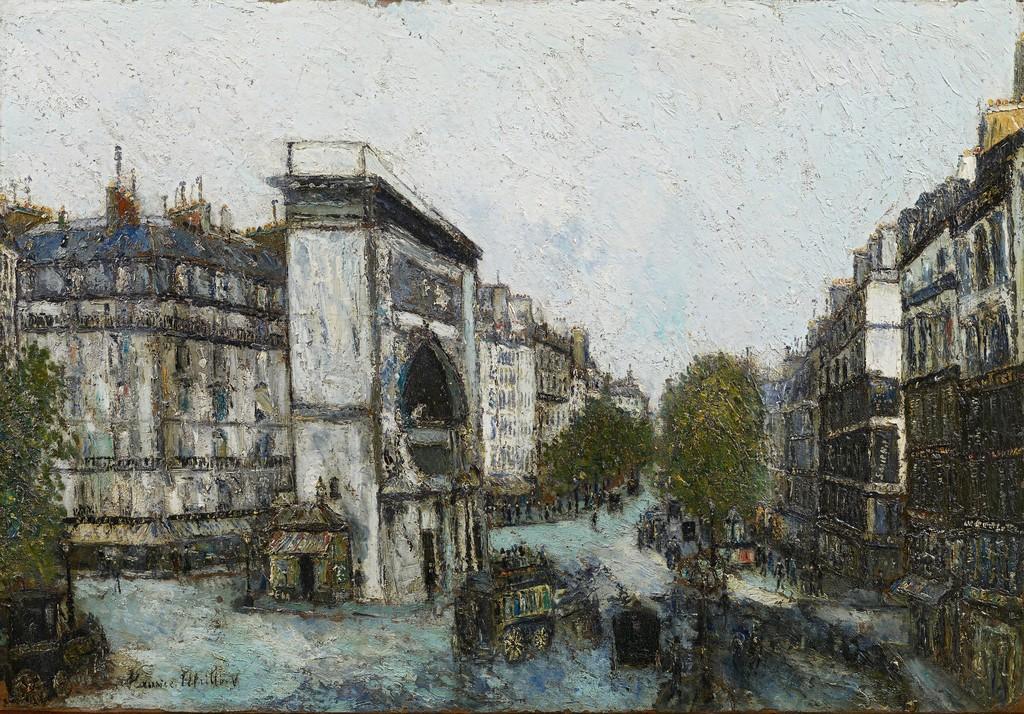 Maurice Utrillo. Porte Saint-Martin