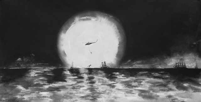 "Konstantin Batynkov, '""Running on waves""4', 2005, Krokin Gallery"