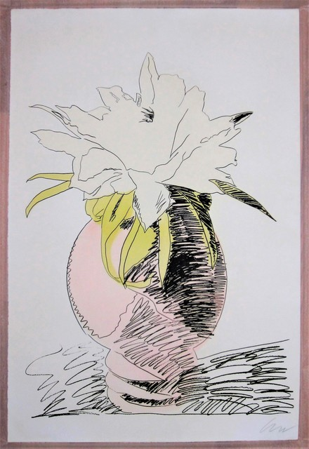 , 'Hand-Colored Flower,' 1974, michael lisi / contemporary art