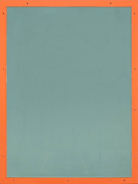 , 'from series Out of imperfection: Pale blue on orange,' 2016, Baró Galeria