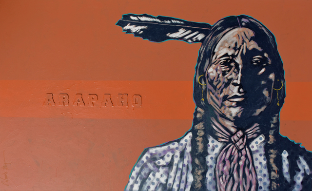 "Nocona Burgess, '""Arapaho""', 2019, Bonner David Galleries"