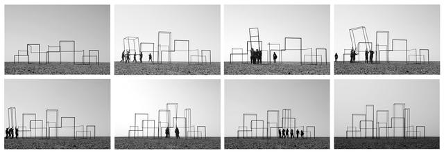 , 'Rusty Mirage (Skyline),' 2013, Fonti